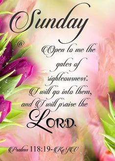 Pin by jean smith on kjv bible verses Sunday Church Quotes, Sunday Bible Verse, Blessed Sunday Quotes, Blessed Sunday Morning, Sunday Quotes Funny, Sunday Love, Morning Blessings, Morning Prayers, Morning Messages