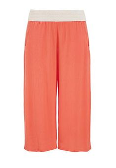 solid gauze gaucho with pockets (original price, $34) available at #Maurices