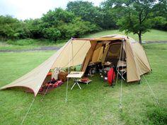 キャンプ ロースタイル( ランドブリーズ4LX)