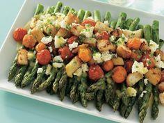 Asparagus and Tomato Salad with Feta