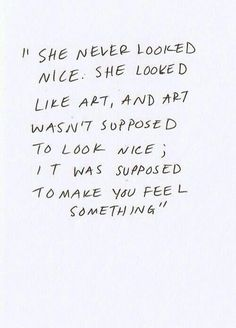 Feel Something..