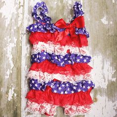july 4th romper
