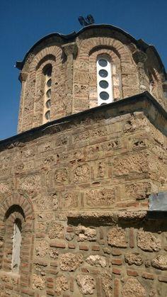 Church of St.  Nicholas. The Serbian medieval monastery. Kosovo and Metohia. Prizren. Serbia.