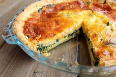 """""""Carb Free"""" Almond Flour Crust Breakfast Quiche. Trust me, you'll want save this one. Amazing!!!!"""