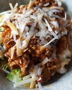Turkey bolognese with extra broccoli and cauliflower and some parmesan. Oh and lots of hot sauce  #teambbqwarriors #bolognese #healthy #veggies #vegetables #eatclean #cleaneating #micronutrients #fit #cauliflower #nutrition #health #lowcarb #parmesan #healthyeating #healthyfood #healthyliving #cheese #recovery #fuel #macros #gymlife #postworkoutmeal #homemade #foodie #food #foodgasm #foodporn #fitnesslifestyle