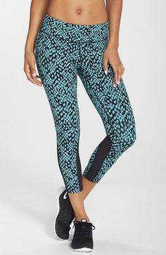 Free shipping and returns on Nike 'Epic Lux' Print Dri-FIT Crop Tights at Nordstrom.com. Up your game in moisture-wicking tights patterned in a mesmerized urban-chic print. A wide, non-binding waistband offers core support while below-the-knee hems with breathable mesh insets flatter and elongate your figure.