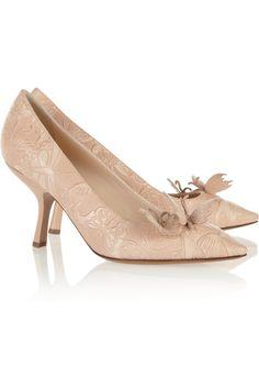 Shop for Butterfly-appliquéd embossed-leather pumps by Bottega Veneta at ShopStyle. Mid Heel Shoes, High Heel Pumps, Pumps Heels, Women's Shoes, Slip On Pumps, Slip On Shoes, Butterfly Heels, Discount Designer Clothes, Pointed Toe Pumps