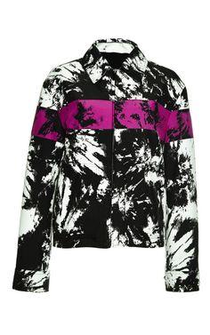 Single Breasted Zipped Workwear Jacket by Alexander Wang - Moda Operandi