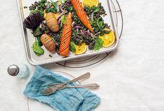 Zelenina Hasselback s čočkovým salátem Green Beans, Carrots, Vegetables, Food, Essen, Carrot, Vegetable Recipes, Meals, Yemek