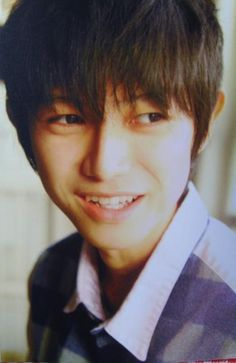 Hongo Kanata. his smile the cutest >,< #KanataHongo