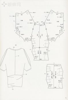PATTERN DRAFTING - not in English but good diagrams
