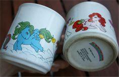 My Little Pony -mukit My Childhood Memories, My Little Pony, Nostalgia, Mugs, Retro, Tumblers, Rustic, Mug, Mlp