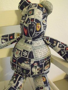 Let It Snow Bear by RADBears on Etsy, $10.00