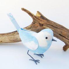 Fabric Bird - Summer Sky. £25.00, via Etsy.