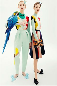Delpozo Pre-Fall 2018 Fashion Show Collection