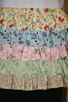Full Apron with Five Layers of Pastel Colored by WorldofIzzy One day  It WILL be mine.  Oh, yes.  It WILL be mine...