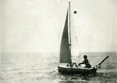 Bas Jan Ader (1942–1975). In Search of the Miraculous, 1975. The artist vanished at sea while attempting to journey across the Atlantic as part of a conceptual art project.