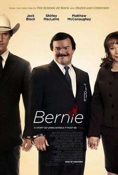 Bernie Movie. In small-town Texas, an affable mortician strikes up a friendship with a wealthy widow, though when she starts to become controlling, he goes to great lengths to separate himself from her grasp.