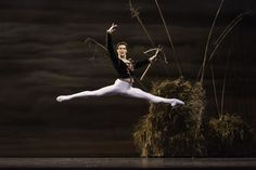 Evan McKie in Swan Lake. Photo by Aleksandar Antonijevic.