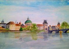 PRAGUE WATERCOLOUR