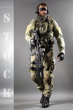 Combat Soldier STOCK VIII by PhelanDavion