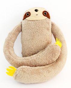 Cosmic Ginge Handmade Three Toed Sloth Sloths Plush by cosmicginge