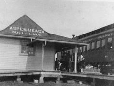Gull Lake Aspen Beach station
