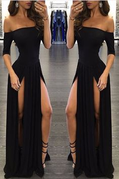 Black Pearl Maxi Dress