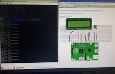 Something we loved from Instagram! Picking up on my real time temp/humidity data logging project. Trying to hook up an LCD display to show temp/humidity in addition to writing the values to a Google Spreadsheet. #pidev #raspberryPi #sensors #probes #datalogging #LCD #Python #hackinginthewoods #tunkvalley #Riverside #omak #okanogancounty #509 #pnw by eisenetics Check us out http://bit.ly/1KyLetq