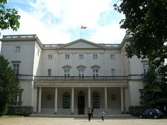 Beli Dvor (Serbian Cyrillic: Бели двор; English: White Court or White Palace) is a mansion located in Belgrade, Serbia. The mansion is part of the Royal Compound, a real estate of royal residences and parklands located in Dedinje, an exclusive area of Belgrade.