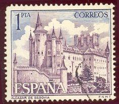 Sello de 1964. Alcazar de Segovia