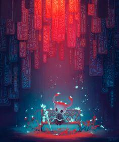 """Hollow Knight"" Art Print by Sabara Dark Souls, Team Cherry, Hollow Night, Knight Games, Hollow Art, Knight Art, Game Concept Art, Poster Prints, Art Prints"