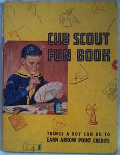 Cub Scout Fun Book - 1958