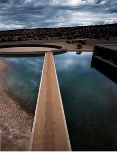Cerro Pelon Ranch, Galisteo, Santa Fe New Mexico | Tadao Ando | Image © Guido Mocafico