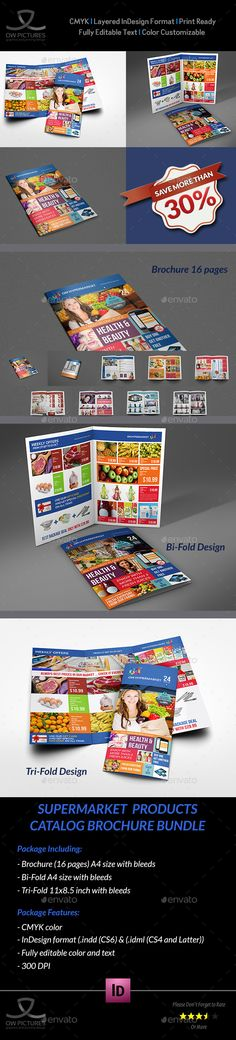 Auto Parts Catalog Brochure Bundle Template - Catalogs Brochures Travel Brochure Template, Bi Fold Brochure, Brochure Design, Indesign Templates, Print Templates, Menu Templates, Freelance Graphic Design, Graphic Design Projects, Auto Parts Catalog