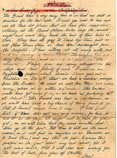 Letters From World War 1