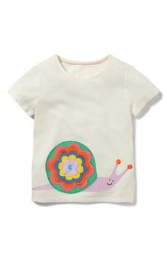 Free shipping and returns on Mini Boden Animal Pal Tee (Toddler Girls, Little Girls & Big Girls) at Nordstrom.com. This lightweight jersey tee featuring a colorful appliqué at the front is perfect for your little animal lover.