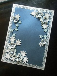 Blue and silver by shirin's hobbies, via Flickr