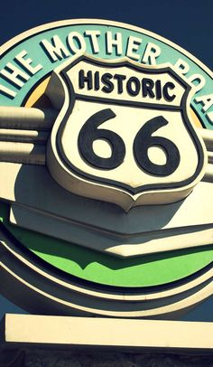 Route 66 Sign, Old Route 66, Route 66 Road Trip, Historic Route 66, Travel Route, Road Trip Playlist, Road Trip Planner, Road Trippin, Cross Country