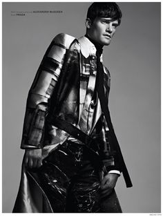 Danny Beauchamp Puts on Modern Armour for Archetype image Danny Beauchamp Archetype Fashion Editorial 003