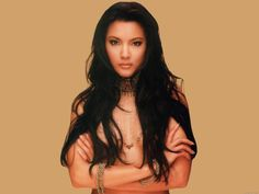 Kelly Hu  this professional martial arts actress embodied the diabolical and dreadful Lady Deathstrike,