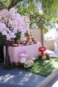 Chakoda Design *'s Birthday / Bambi - Photo Gallery at Catch My Party 1st Birthday Party For Girls, Girl Birthday Themes, Fairy Birthday Party, Baby Party, Birthday Party Decorations, 80 Birthday, Birthday Ideas, Girl Baby Shower Decorations, Bambi Baby