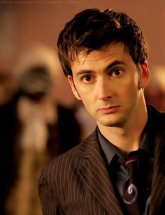David Tennant, quick i need a doctor!