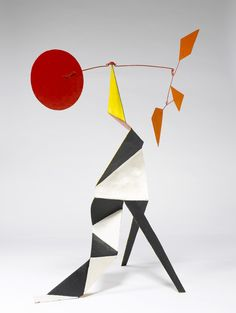 "sheet metal, wire and paint, 34"" x 26-1/2"" x 15-1/2"" (86.4 cm x 67.3 cm x 39.4 cm), © 1973 Calder Foundation, New York /Artists Rights Society (ARS), New York / Photo by: Kerry Ryan McFate, courtesy Pace Gallery"