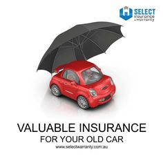 Need valuable Insurance for your old car. Visit at http://www.selectwarranty.com.au/