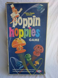 Poppin Hoppies Game...loved this game as a kid and still have a couple of the poppin hoppies!