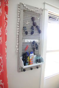 Got some old shutters in your garage? THIS is what you should do with them!