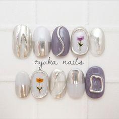 Coco Nails, Nude Nails, My Nails, Japanese Nail Design, Japanese Nails, Pop Art Nails, Dope Nail Designs, Nail Art Techniques, Nail Tattoo