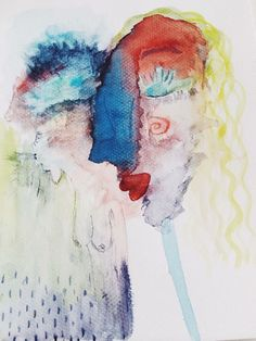 dancing in the light watercolor  #illustration #art #drawing #woman #colorful #watercolor