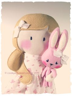 My Teeny-Tiny Doll® Gemma & Bunny by Cook You Some Noodles®